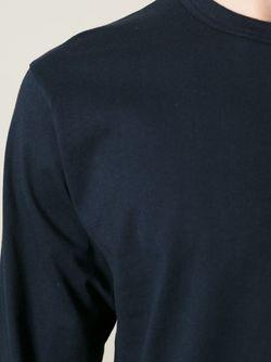 Футболка С Длинными Рукавами Comme Des Garcons                                                                                                              черный цвет