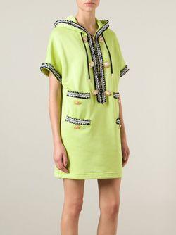 Платье С Капюшоном Moschino                                                                                                              зелёный цвет