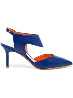 Туфли Leda Nicholas Kirkwood                                                                                                              синий цвет