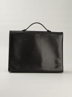 Портфель С Логотипом Chanel Vintage                                                                                                              чёрный цвет