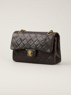Сумка 2.55 На Плечо Chanel Vintage                                                                                                              черный цвет