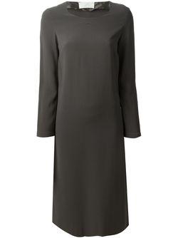 Платье Из Джерси Label Maison Margiela                                                                                                              серый цвет
