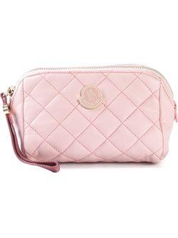 Стёганая Косметичка Moncler                                                                                                              розовый цвет
