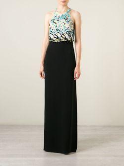 Декорированное Вечернее Платье Roberto Cavalli                                                                                                              черный цвет