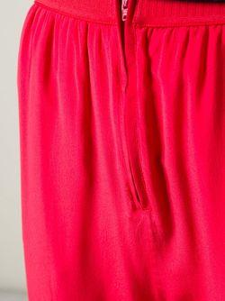 Укороченные Брюки С Заниженной Промежностью Erika Cavallini                                                                                                              красный цвет