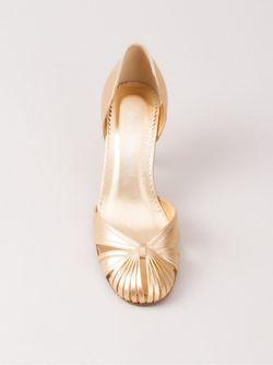 Round-Toe Pumps Sarah Chofakian                                                                                                              серебристый цвет