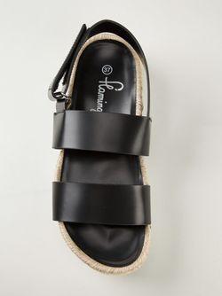 Сандалии Mondrian Florentic FLAMINGO'S                                                                                                              черный цвет
