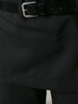 Брюки С Фартуком JUNYA WATANABE COMME DES GARCONS                                                                                                              чёрный цвет