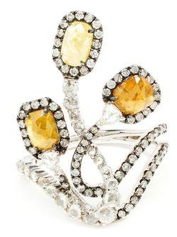 Кольцо Three Graces SAQQARA                                                                                                              желтый цвет