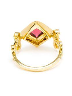 Кольцо Domi Rosa SABINE G                                                                                                              красный цвет