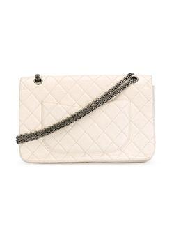 Сумка С Откидным Клапаном На Плечо Chanel Vintage                                                                                                              белый цвет