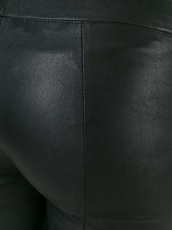 Кожаные Леггинсы The Row                                                                                                              чёрный цвет