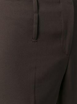 Укороченные Классические Брюки PRADA VINTAGE                                                                                                              коричневый цвет