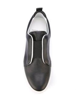 Кеды Без Шнуровки Pierre Hardy                                                                                                              черный цвет