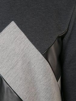 Толстовка С Расклешенным Подолом Viktor & Rolf                                                                                                              серый цвет
