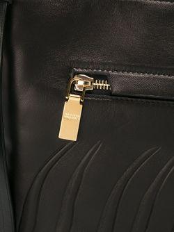Клатч На Молнии Alexander McQueen                                                                                                              черный цвет