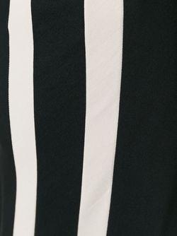 Брюки С Панелью-Фартуком YOHJI YAMAMOTO VINTAGE                                                                                                              чёрный цвет