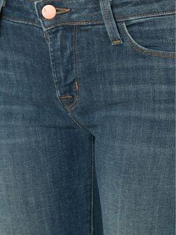 Расклешенные Джинсы J Brand                                                                                                              синий цвет