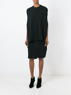 Многослойное Платье-Накидка ESTEBAN CORTAZAR                                                                                                              черный цвет