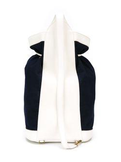 Рюкзак В Матросском Стиле Hermès Vintage                                                                                                              синий цвет