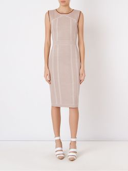 Midi Knit Dress Gig                                                                                                              коричневый цвет
