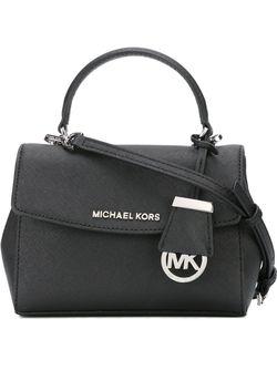 Сумка Ava На Плечо Michael Michael Kors                                                                                                              черный цвет