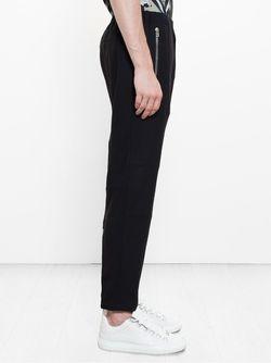 Брюки С Молниями На Щиколотах Givenchy                                                                                                              чёрный цвет