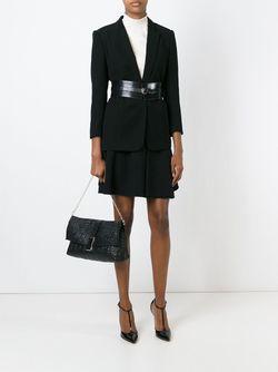 Стеганая Сумка На Плечо Greca Versace                                                                                                              чёрный цвет