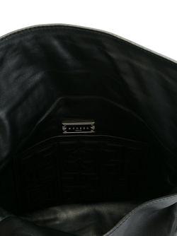 Стеганая Сумка На Плечо Greca Versace                                                                                                              черный цвет