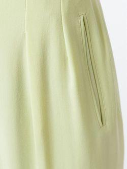 Широкие Брюки Celine Vintage                                                                                                              желтый цвет