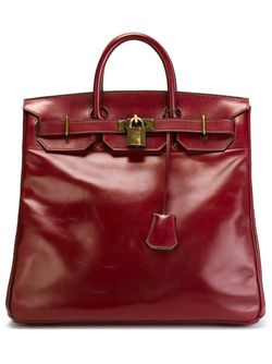 Сумка-Тоут Haut-À-Courroie Hermès Vintage                                                                                                              красный цвет