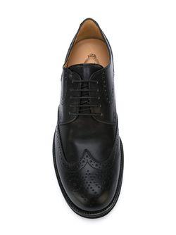 Туфли-Броги Tod'S                                                                                                              черный цвет