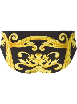 Плавки С Принтом В Стиле Барокко Versace                                                                                                              черный цвет