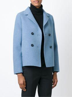 Двубортный Блейзер Massimo Alba                                                                                                              синий цвет