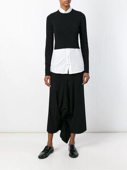 Комбинированная Модель Comme Des Garcons                                                                                                              чёрный цвет
