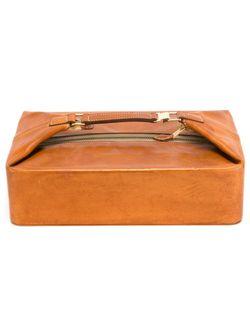 Несессер Hermès Vintage                                                                                                              коричневый цвет