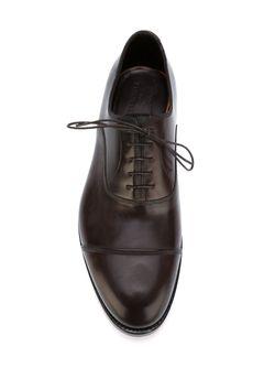 Туфли Оксфорды Santoni                                                                                                              коричневый цвет