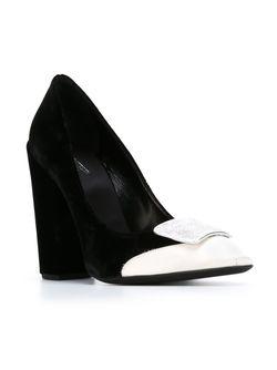 Туфли С Контрастным Носком Giambattista Valli                                                                                                              черный цвет