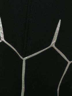 Платье С Геометрическим Принтом THIERRY MUGLER VINTAGE                                                                                                              чёрный цвет
