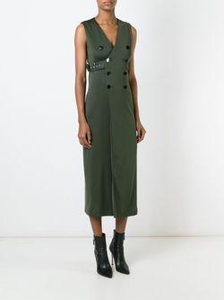 Платье Без Рукавов Les Rabbins Chic JEAN PAUL GAULTIER VINTAGE                                                                                                              зелёный цвет