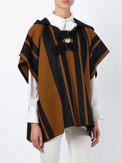 Striped Hooded Jacket Forte Forte                                                                                                              коричневый цвет