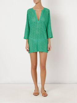 V Neck Beach Dress Sub                                                                                                              зелёный цвет