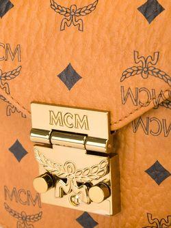 Сумка На Плечо С Принтом Логотипа MCM                                                                                                              Nude & Neutrals цвет