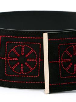 Ремень Greek Versace                                                                                                              черный цвет
