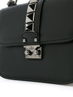 Сумка На Плечо Glam Lock Valentino Garavani                                                                                                              черный цвет