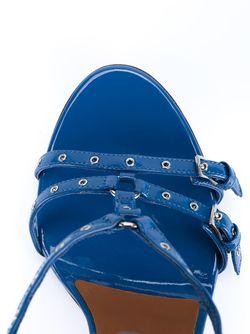 Босоножки Love Latch Valentino Garavani                                                                                                              синий цвет