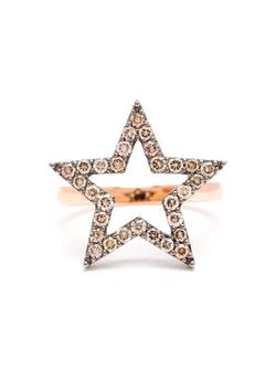 Diamond Star Ring ROSA DE LA CRUZ                                                                                                              розовый цвет