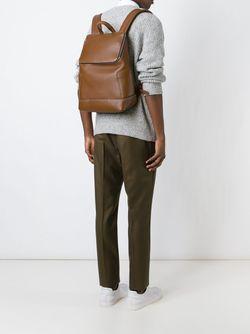 Рюкзак С Застежкой-Молнией Salvatore Ferragamo                                                                                                              коричневый цвет
