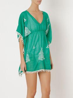 Embroidered Kaftan Sub                                                                                                              зелёный цвет