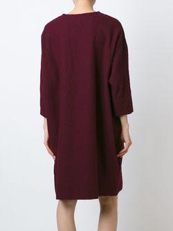 Платье-Свитер Свободного Кроя ARTS & SCIENCE                                                                                                              розовый цвет